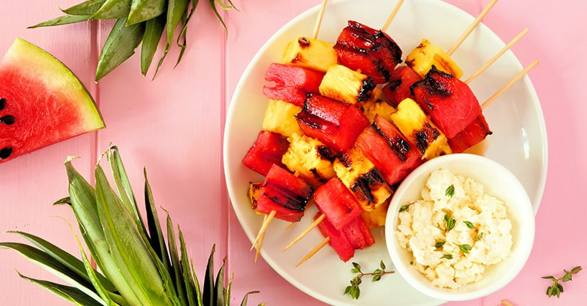 The Fruity Kabobs