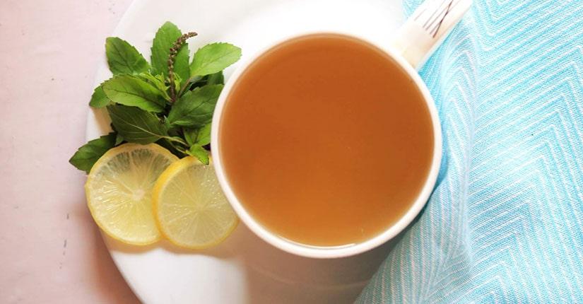Basil Ginger Lemon Tea