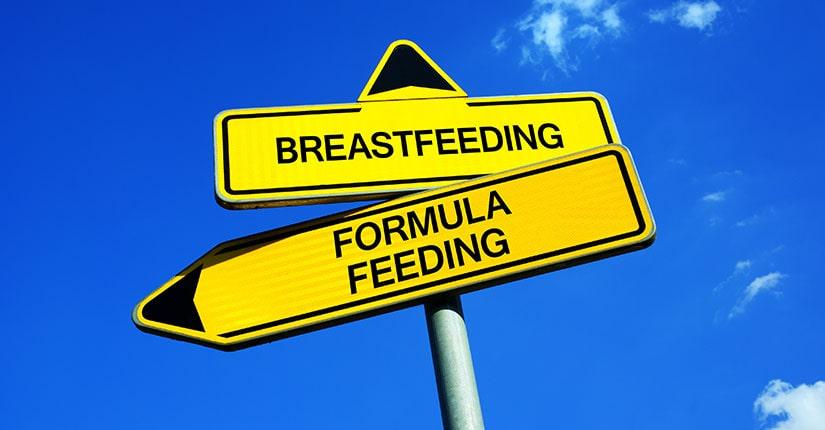 Breastfeeding vs Formula Feeding, know the difference