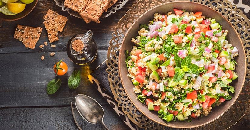 Tossed Egyptian Salad recipe