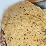 Oats Flaxseed Roti