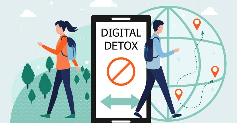 Social Media Detox-Unplug the Hi-Tech Devices