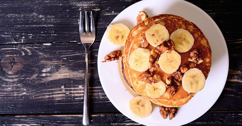 Walnutty Pancakes