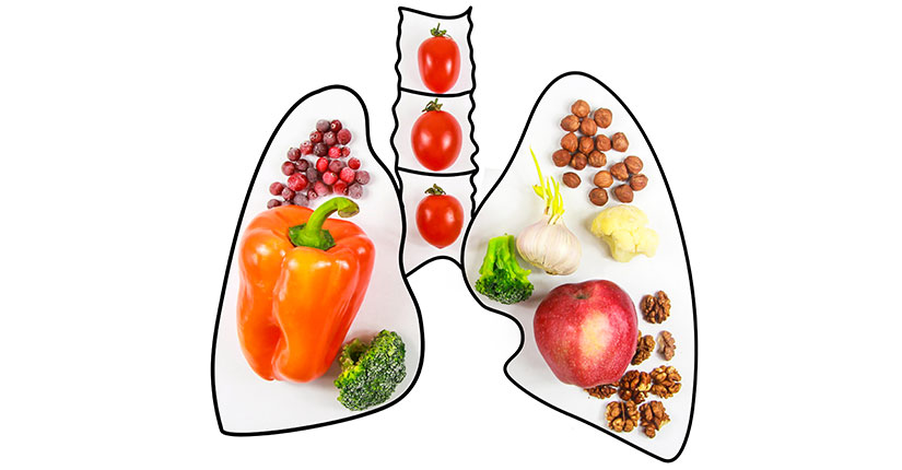7 Super Concoctions that helps to keep Lungs Healthy