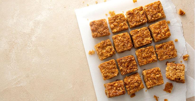 Baked Quinoa Chickpea Square Bites